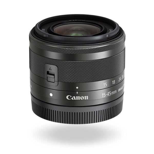 0000003990| Canon EF-M 15-45mm F3.5-5.6 IS STM Lens