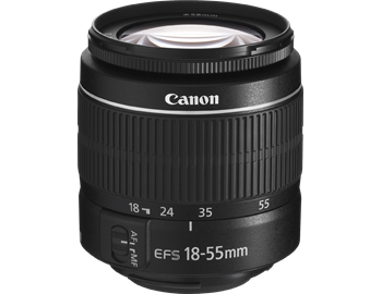 0000019995| Canon EFS 18-55mm III (Non IS) Lens