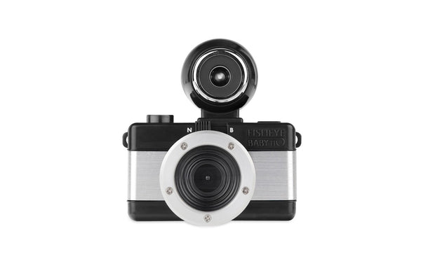 0000006495| Lomography Fisheye Baby 110 - Metal Black - michaels camera video digital