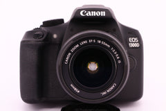 CANON EOS-1300D 18-55EF - professionally tested