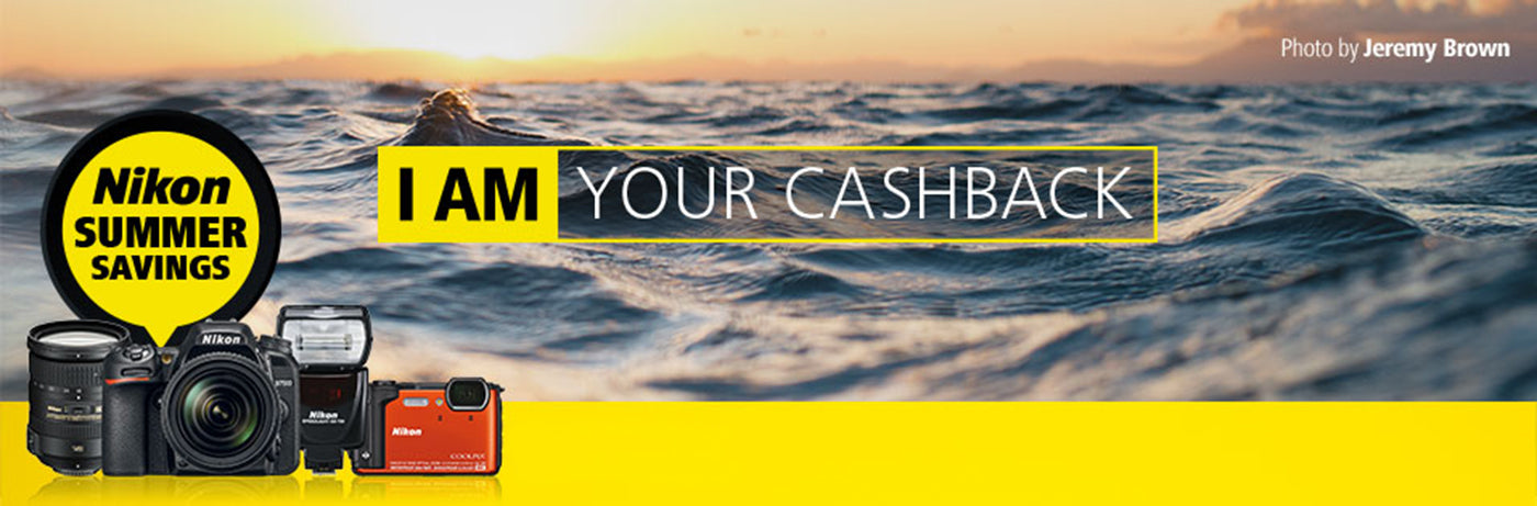 Nikon I AM Your Cashback