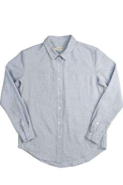Lane Shirt in Light Blue Chambray