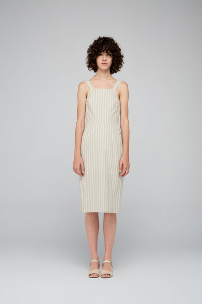 Cesar Dress in Stripes