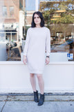 Warm Smile Dress in White