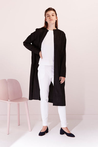 Stahl Housecoat in Black