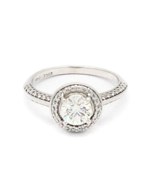 Diamond Center Stone Engagement Ring