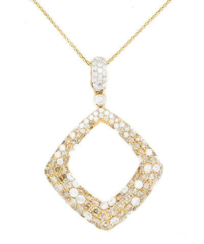 Diamond Yellow Gold Necklace