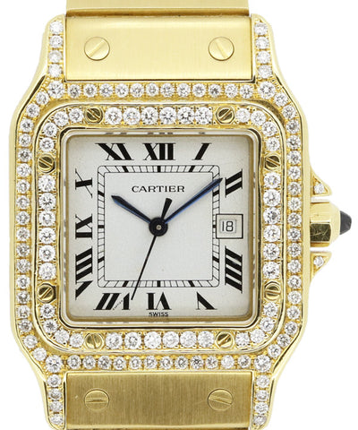 Cartier Ladies and Mens Yellow Gold Watch