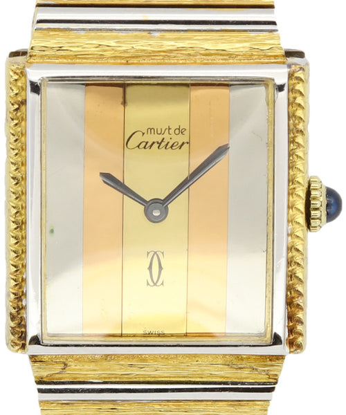 Cartier Ladies Yellow Gold Watch