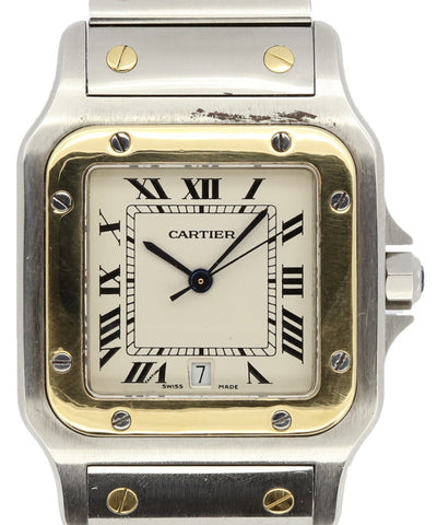 Cartier Ladies and Mens Stainless Steel Square Watch