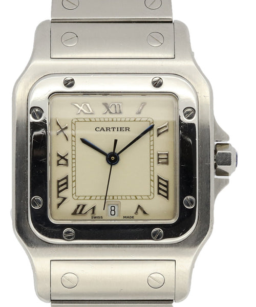 Cartier Ladies Stainless Steel Watch