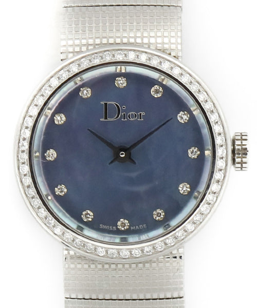 Dior Blue Mother of Pearl Watch