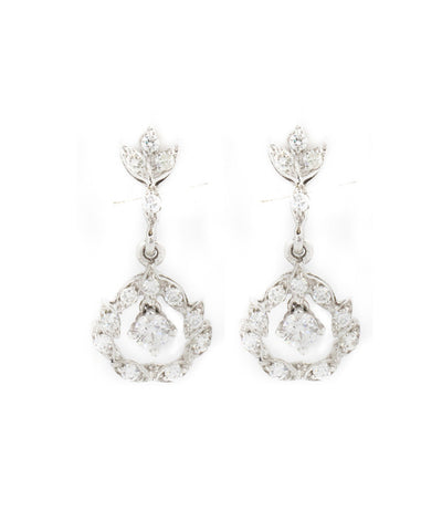 Diamond Long Shape Earring