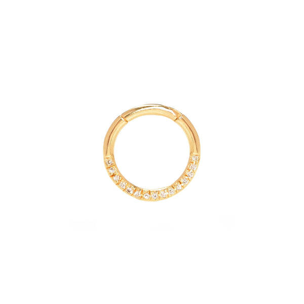 Pavé Diamond Septum Ring
