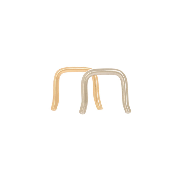 Gold Septum Retainer Nose Ring