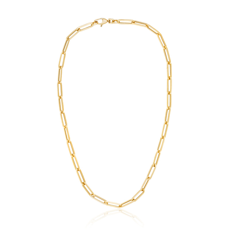 Classic Paperclip Chain Necklace
