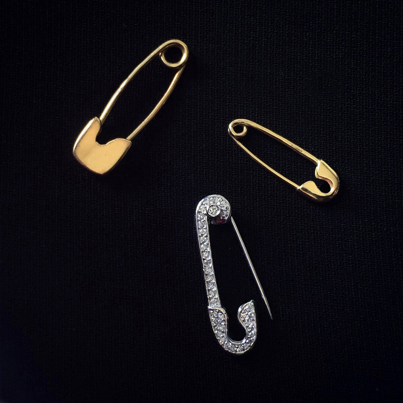 Petite Safety Pin Earring