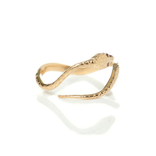 Delicate Eternal Snake Ring
