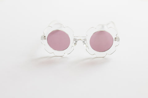 Sunnies - Clear Daisy