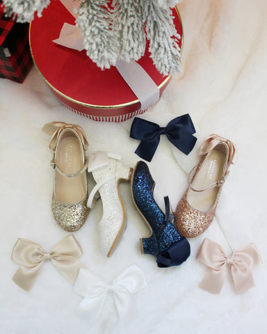 Glitter Heels for Holiday