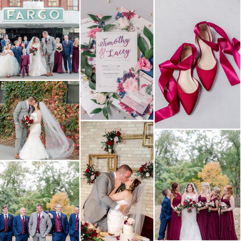 Burgundy Wedding Theme