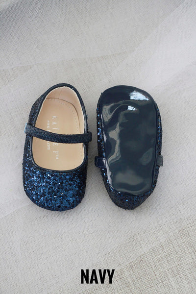 Glitter Baby Shoes Holiday Gift Set (2 PAIRS)