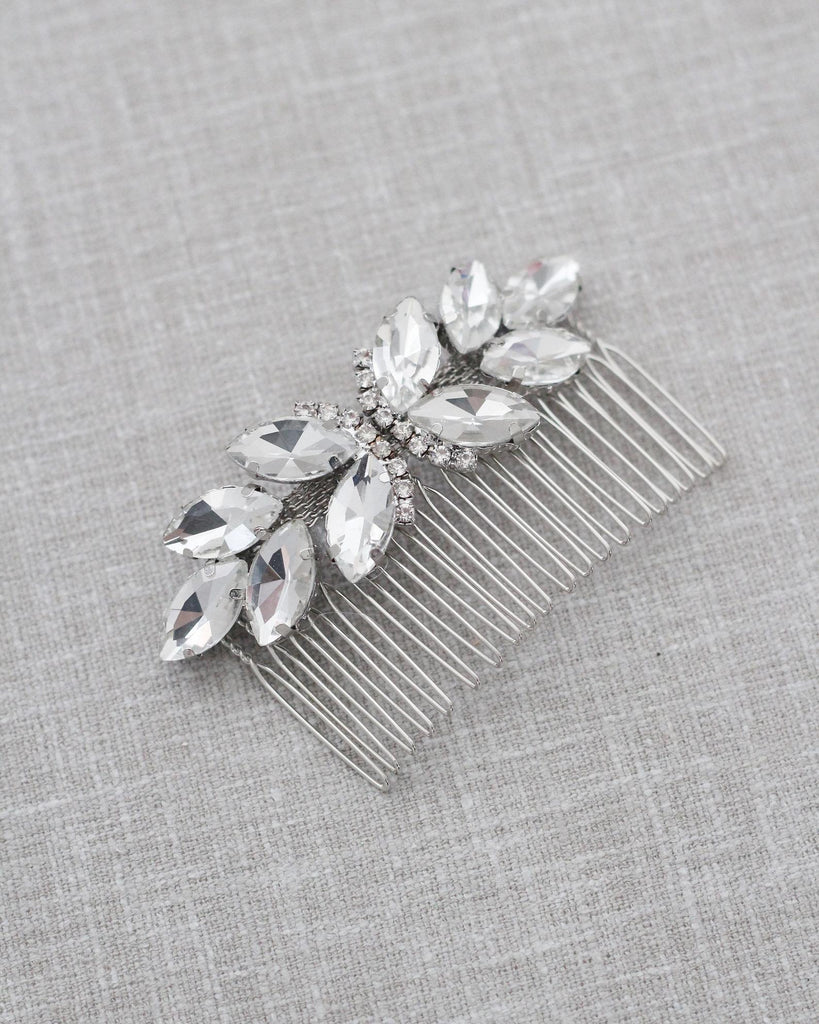 Butterfly Jeweled Hair Comb