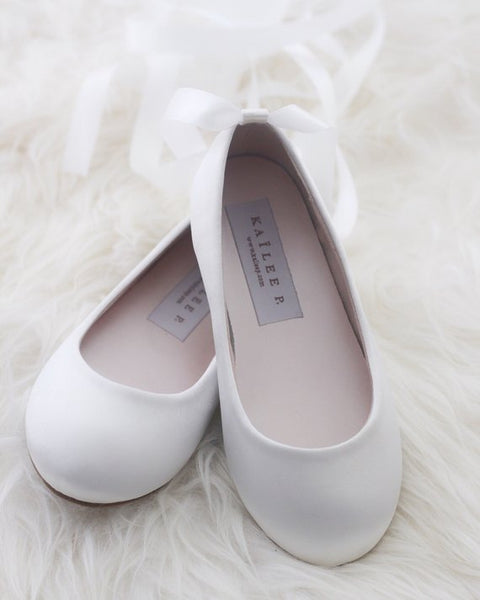off white ballet shoes