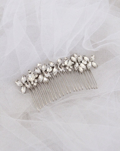 Jeweled Hair Comb