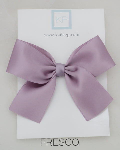 SATIN Bow Hair Clips for girls