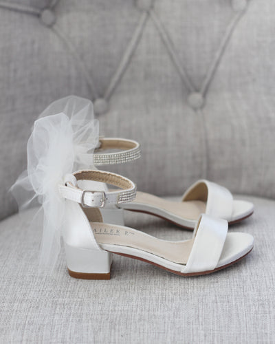 ivory heels shoes