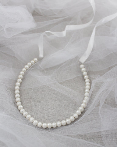 Classic All Pearls Headpiece