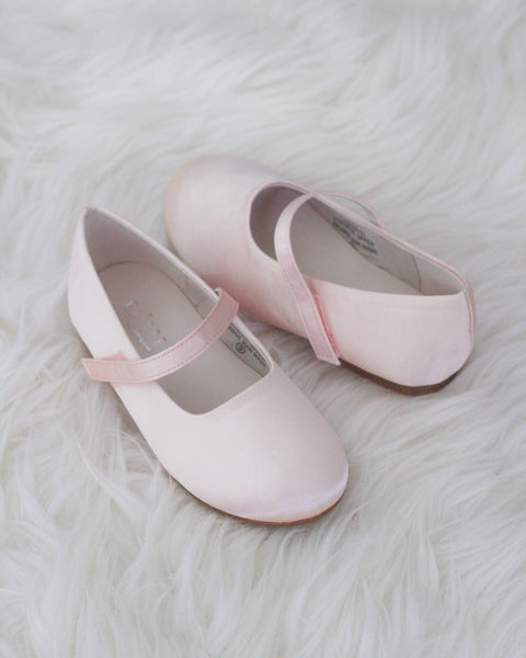 girls blush shoes