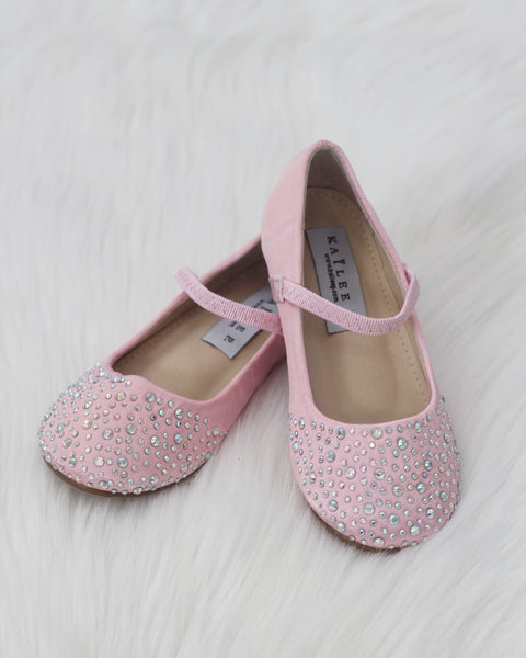 toddler pink Mary Jane shoes