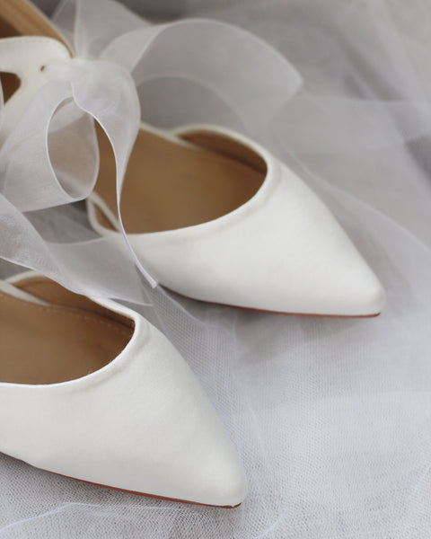 off white wedding shoes