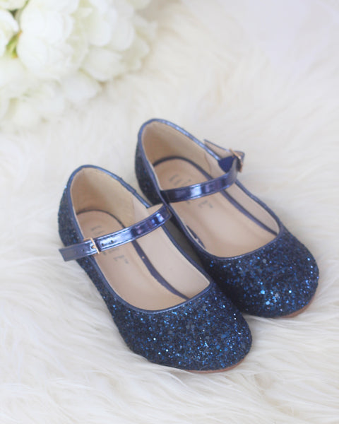 girls navy heels