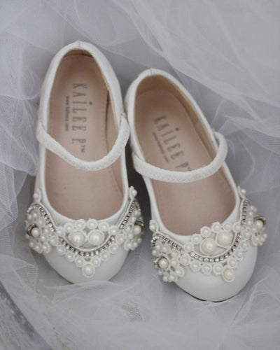 ivory Mary Jane shoes