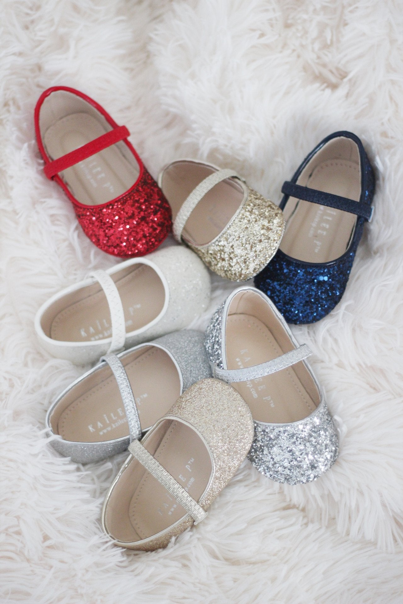 cdc8ed066be59 Girls ballet flats and maryjane - glitter and jewels and flower ...