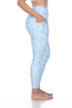 The Curvy Power in Floral Blue