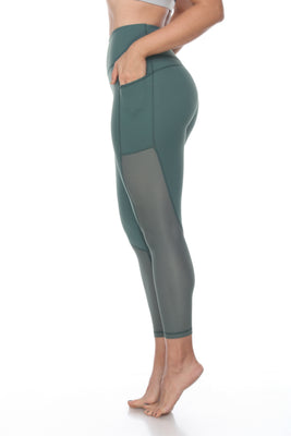 The Luxi Leggings - Olive Green