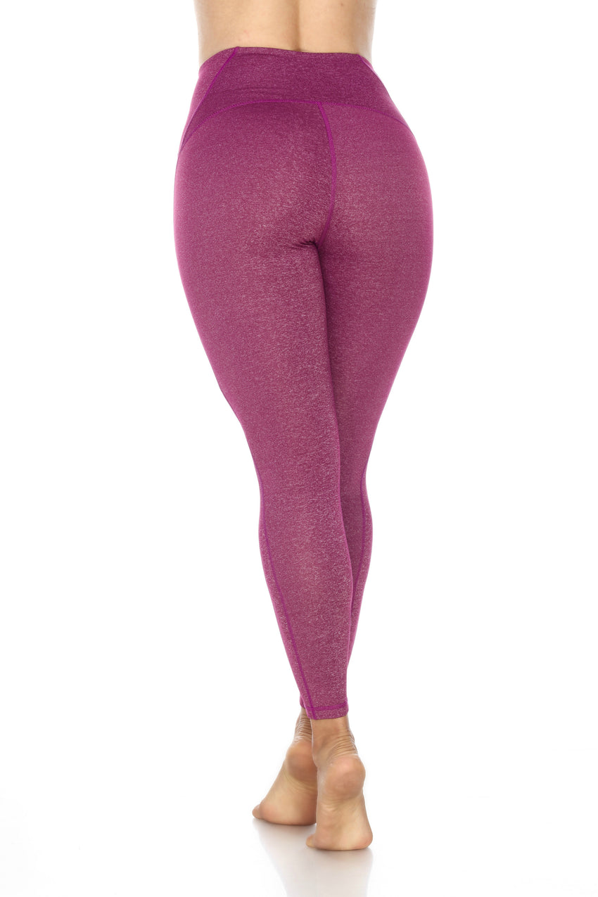 The Miraculous Legging - Heather Purple