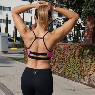 Vfit's Signature Sport Bra in Black