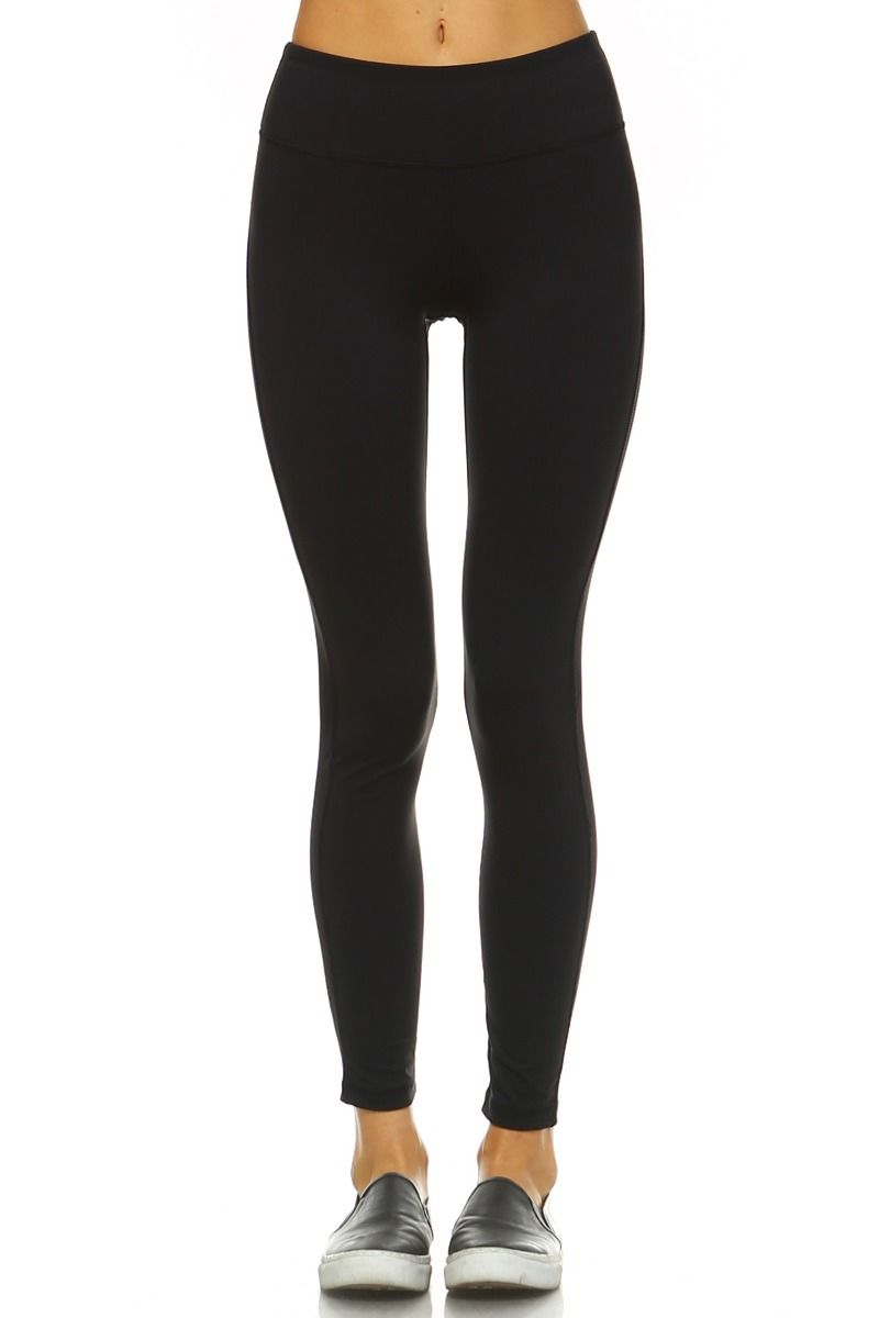 CRISSCROSS CUTOUT ACCENT LEGGINGS (BLACK)