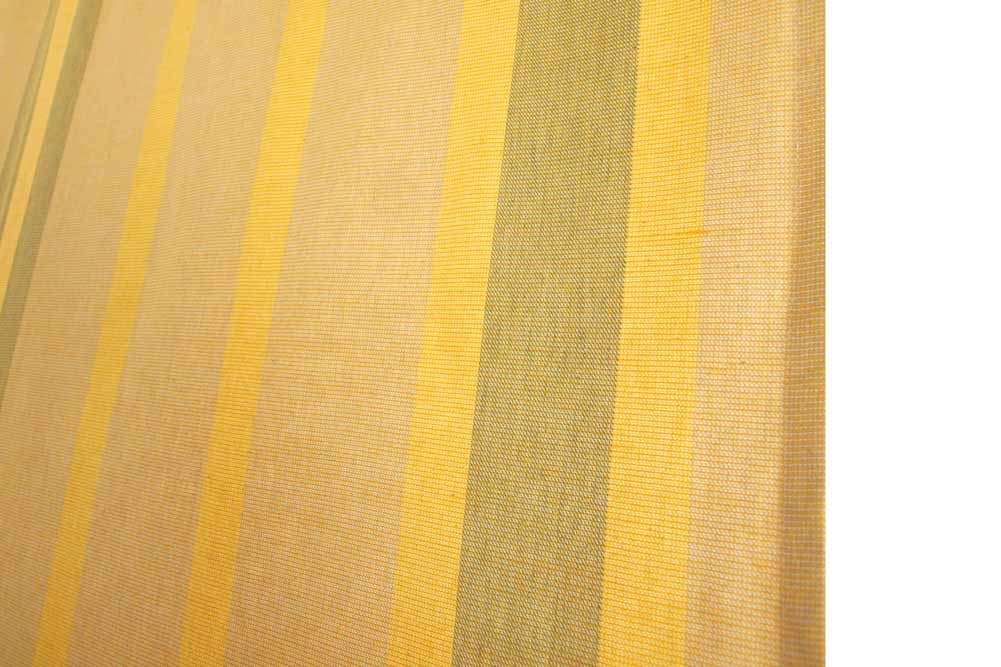 ... Handmade Yellow Stripes Rod Pocket Curtains On Sale ...