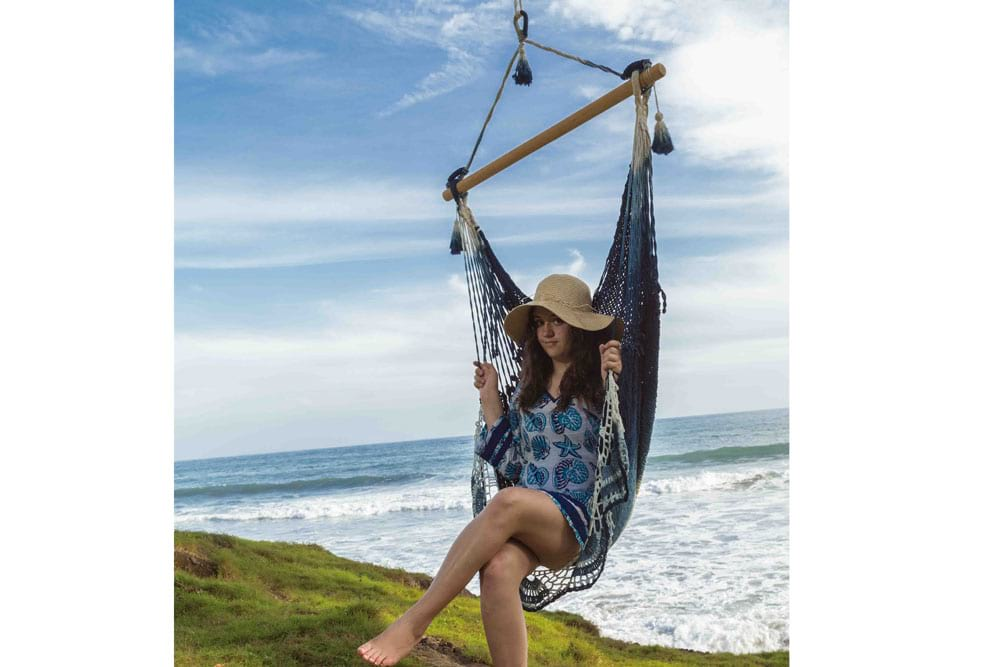 hanging hammock chair for indoor and outdoor deluxe hammock chairs swings by elivana accents  rh   elivanaaccents