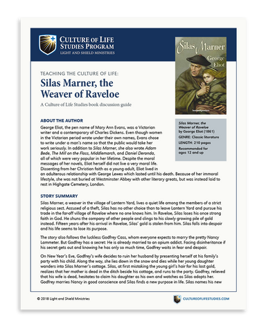 Book Discussion Guide: Silas Marner by George Eliot (Digital Download)