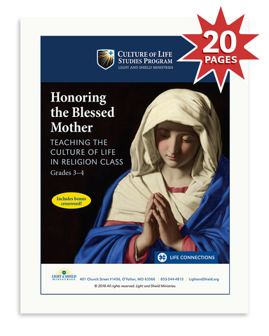 Honoring the Blessed Mother (Digital Download)