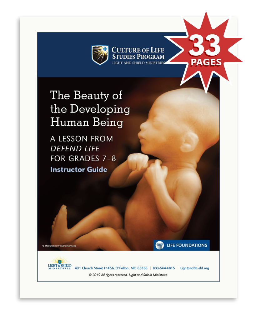Defend Life: The Beauty of the Developing Human Being (Digital Download)