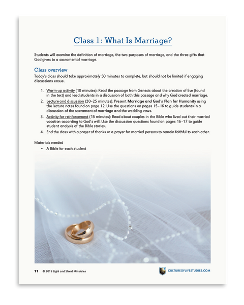 Defend Life: Marriage and Family (Digital Download)