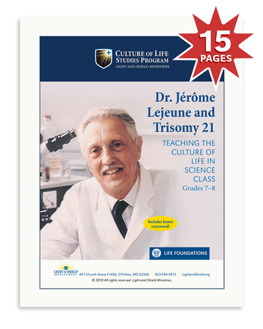 Dr. Jérôme Lejeune and Trisomy 21 (Digital Download)